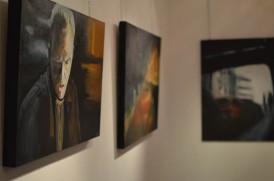 Exposition «Human Urban», en compagnie de la Sculptrice Chantal Tomas, Galerie Imag'in, Lyon, 2012.